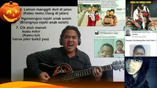 Huntu Dibehelan  Fenomena Anak Alay  Versi Metal - Hendra Husnussalam