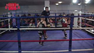 Shins of Steele 3 - Oliver Clarke (Stoke Thai) V Lesley Van De Kraaij (Brothers Gym)
