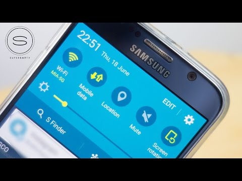 Galaxy S6 Mobile Data Quick Toggles FIX | SuperSaf TV