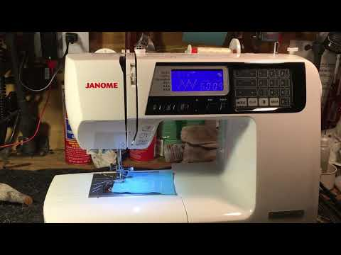 Janome 4120 QDC Sew-by-wire (demo)