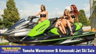 Yamaha Waverunner & Kawasaki Jet Ski Sale at Fun Bike Center Lakeland