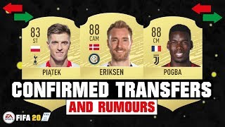 FIFA 20 | NEW CONFIRMED TRANSFERS & RUMOURS