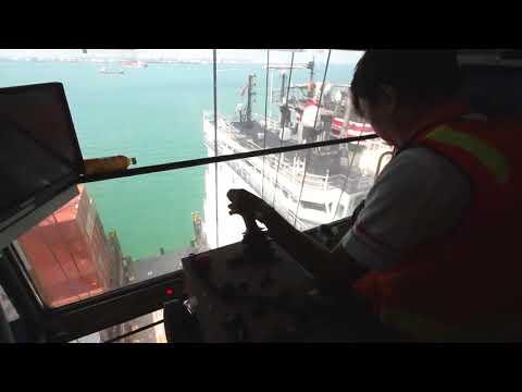PSA Singapore - Through Our Eyes Part 3:  Mega Quay Cranes