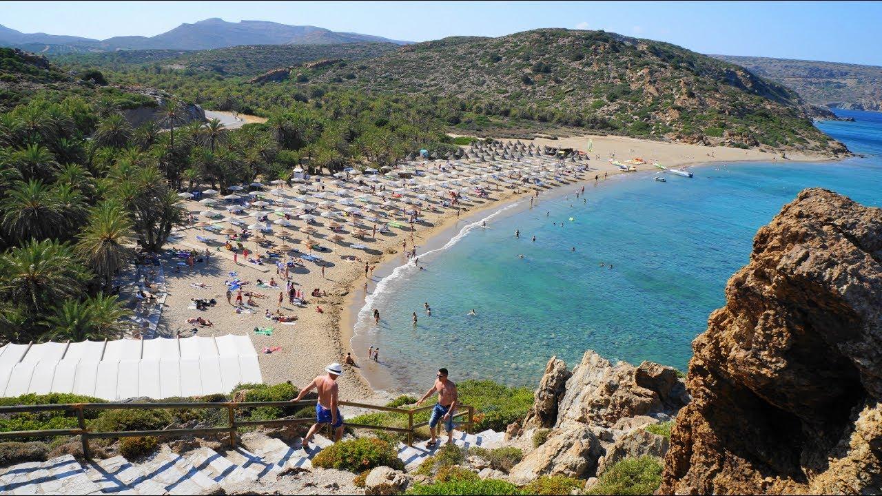 """Αποτέλεσμα εικόνας για vai beach crete"""""""