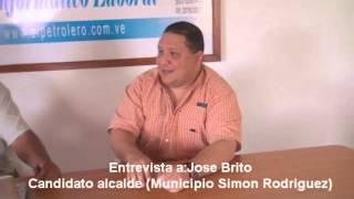 EL PETROLERO TV Entrevista a Jose Brito Candidato Alcalde Municipio Simon Rodriguez)