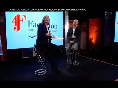 MARIA LATELLA INTERVISTA ALESSIO ROMEO IN OCCASIONE DEL LANCIO INTERNAZIONALE DI FACE4JOB