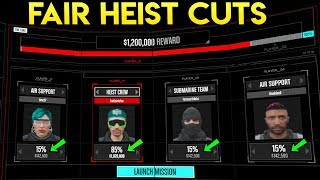 GTA Online Doomsday Heist: How to Give FAIR PAYOUTS! (What Cut Percent Should You Choose)