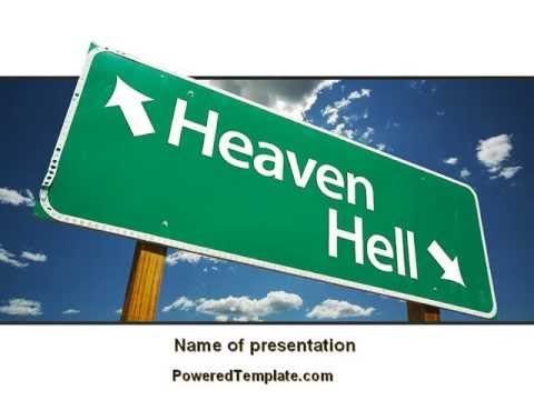 Heaven or hell powerpoint template by poweredtemplatecom youtube for Poweredtemplate