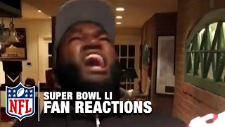 Super Bowl LI Fan Reactions Narrated by Matt Damon | NFL