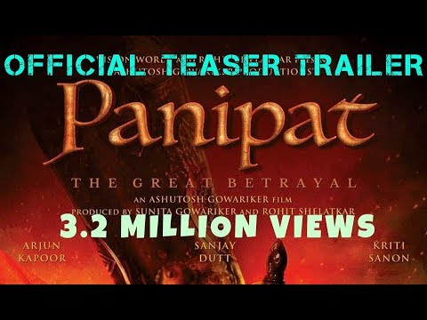 Panipat Offcial Teaser 2018 | Arjun Kapoor | Sanjay Dutt | Kriti Sanon | Ashutosh Gowariker