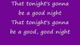 The Black Eyed Peas I gotta feeling with lyrics ♥
