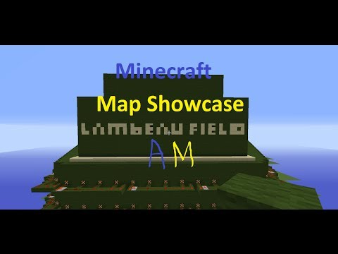 Minecraft: Map Showcase: Lambeau Field  (Green Bay Packer