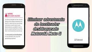Eliminar advertencia al bootloader desbloqueado | Moto G 2013 y Moto G 2014