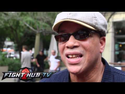 Virgil Hunter on Mayweather vs. Khan, feels Maidana getting Mayweather is absurd