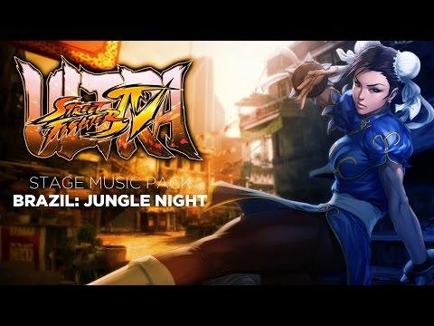 Captain Mazda's Ultra Street Fighter IV Music Mod: Pitch-black Jungle