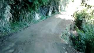 Carretera peligrosa de Rovira Tolima