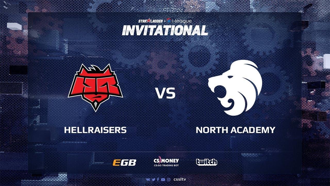 HellRaisers vs North Academy, map 1 inferno, SL i-League Invitational Shanghai 2017 EU Qualifier