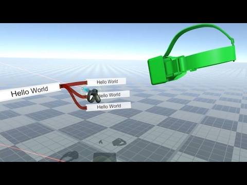 Introduction to multiplayer visual VR programming with LogiX