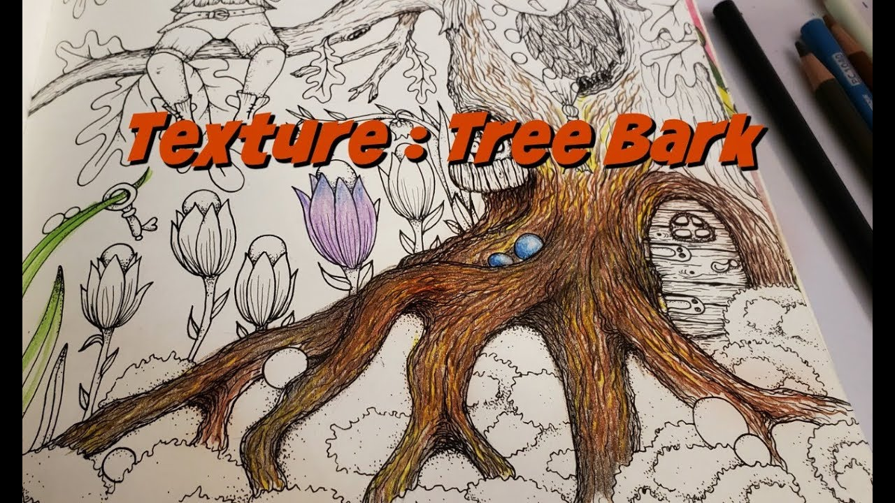 Coloring Texture How To Color Tree Bark