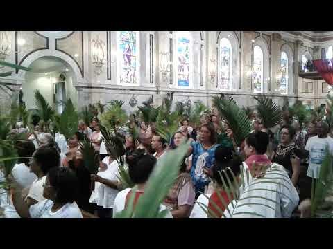 Igreja São João Batista de Icoaraci - Domingo de Ramos 14.04.19