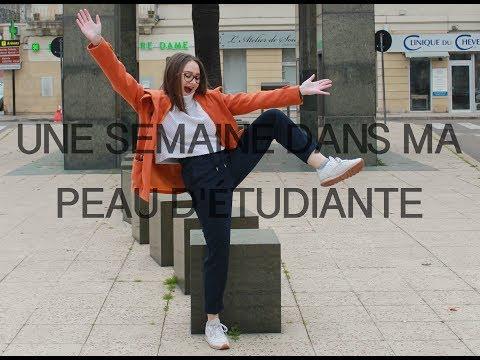 UNE SEMAINE DANS MA PEAU D'ETUDIANTE (PART 1)