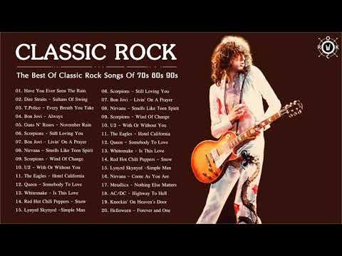 Classic Rock Collection | The Best Of Classic Rock Songs Of 70s 80s 90s