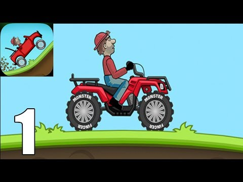 Hill Climb Racing ( Androi / IOS ) Gameplay #1 - QUAD BIKE