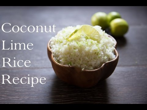 Coconut Lime Rice Recipe
