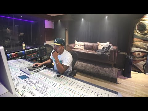 Behind the Scene with J.R.Clark and Smoke Dza in Quad Recording Studio New York