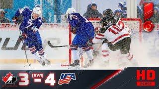 29.12.2017г. ЧМ U-20. Канада - США - 3:4 (по буллитам). Обзор матча