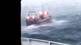 Fırtına'da, Kaptanın Zor Anları