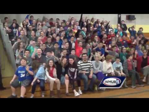 School visit: 6th-graders at James Mastricola Upper Elementary School in Merrimack