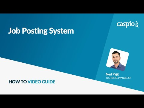 Job Posting System