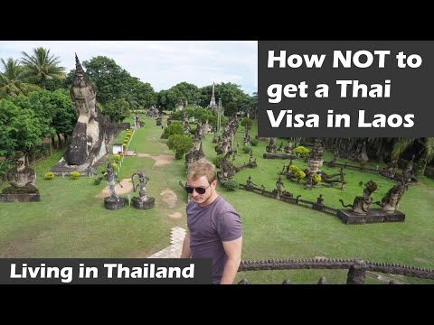 How NOT to get a Thai Visa in Laos - Living in Thailand as a Digital Nomad 2016