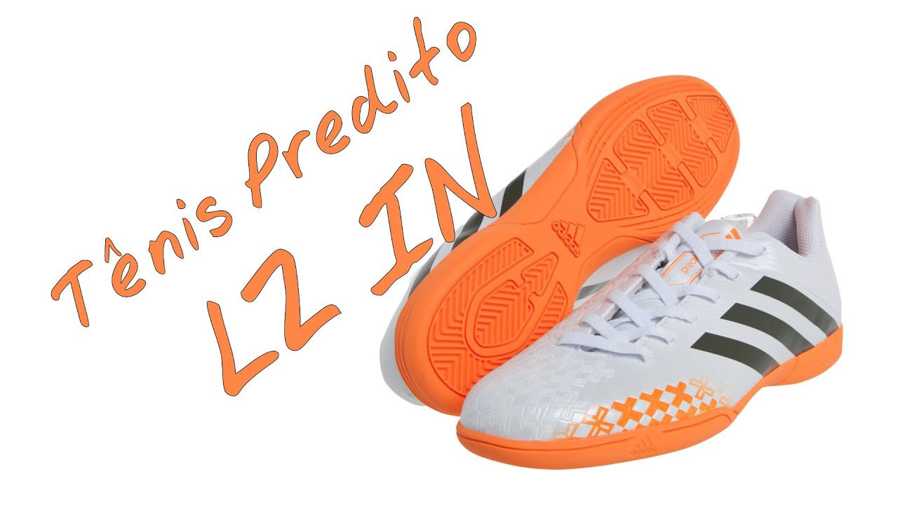 31136274e usa unboxing tenis adidas predito lz in futsal na loja virtual netshoes  youtube 966be 64114