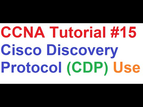CCNA 15_Cisco Discovery Protocol(CDP), Documenting Network Topology
