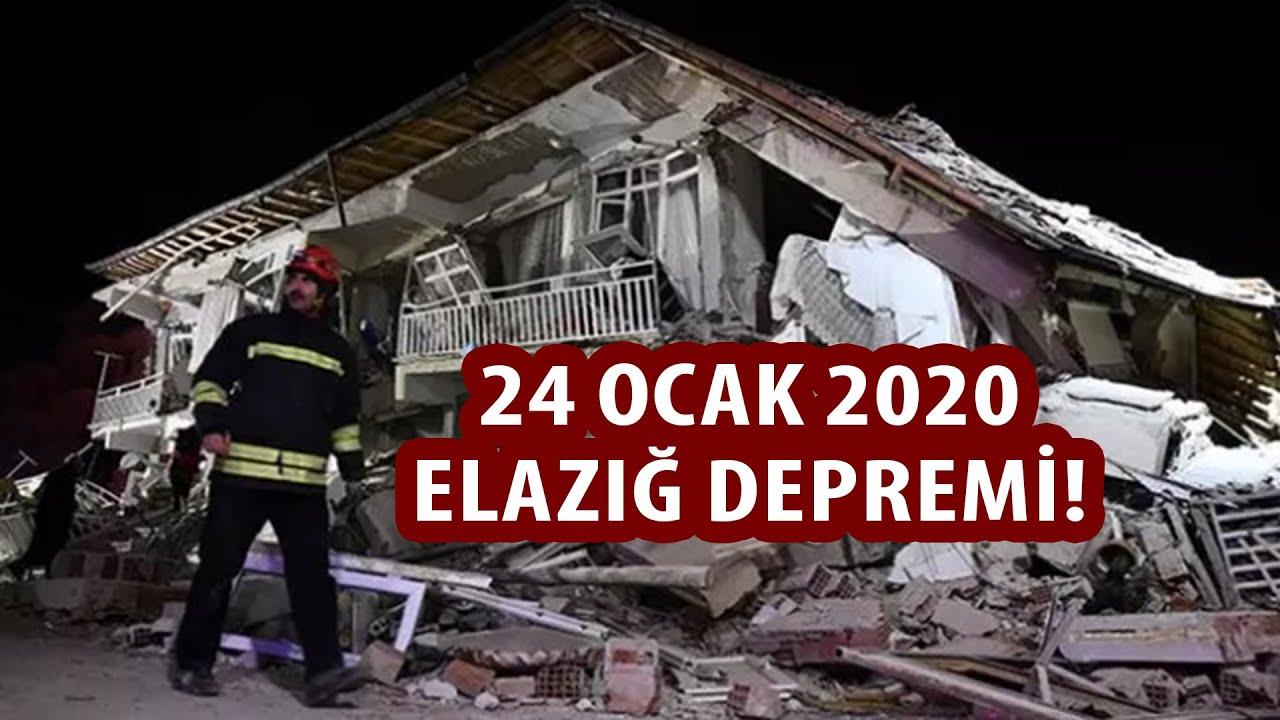 24 Ocak 2020 ELAZIĞ Depremi   6.8 - YouTube