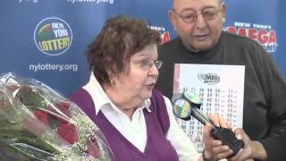 New York Lottery  Mega  Jackpot Winner