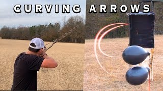 HOW TO CURVE AΝ ARROW : UPDATED VERSION