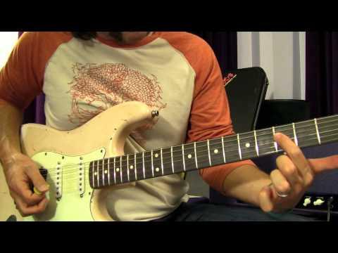 Bon Jovi - Wanted Dead or Alive - Guitar Solo Lesson - YouTube
