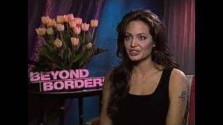 Angelina Jolie interview with JC in London