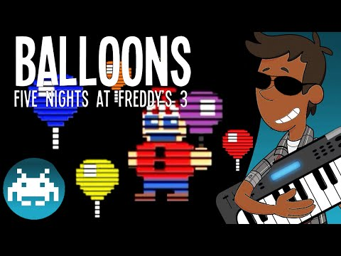 [8-Bit] Balloons - Five Nights At Freddy's 3 Song by Mandopony