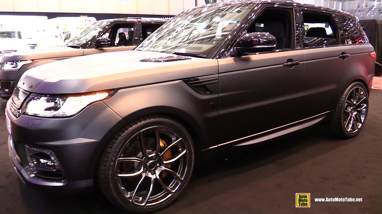 2015 range rover sport - project kahn 400 le - exterior,interior
