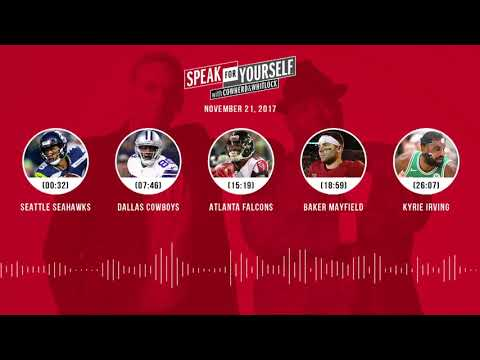 SPEAK FOR YOURSELF Audio Podcast (11.21.17) with Colin Cowherd, Jason Whitlock   SPEAK FOR YOURSELF