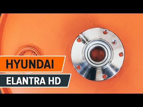 How to replace a rear wheel bearing on HYUNDAI ELANTRA HD TUTORIAL | AUTODOC