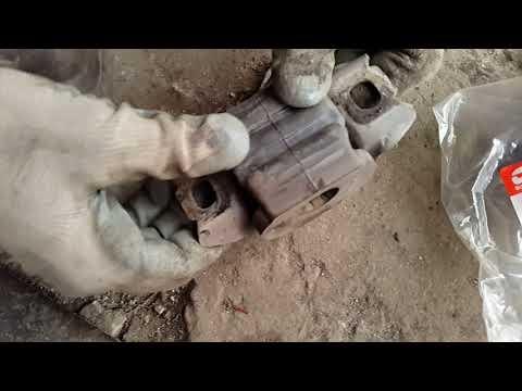 стук в салоне, замена заднего сайлентблока переднего рычага, башмака, сенс, ланос