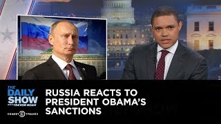 Russia Reacts to President Obama's Sanctions: The Daily Show thumbnail