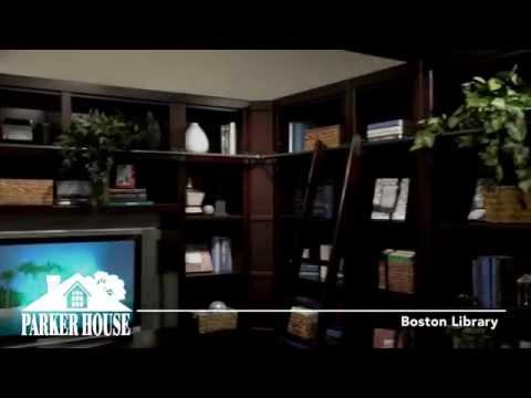 Boston Library Wall Unit From Parker House