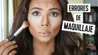 8 Errores más comunes de maquillaje - Contorno e iluminación | Doralys Britto