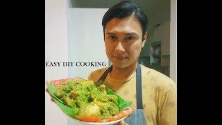 EASY DIY COOKING - TURMERIC FRIED CHICKEN WITH GREEN CHILLI SAMBAL / AYAM SAMBAL CILI HIJAU
